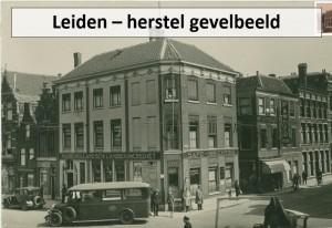 Gevelbeeld Leiden